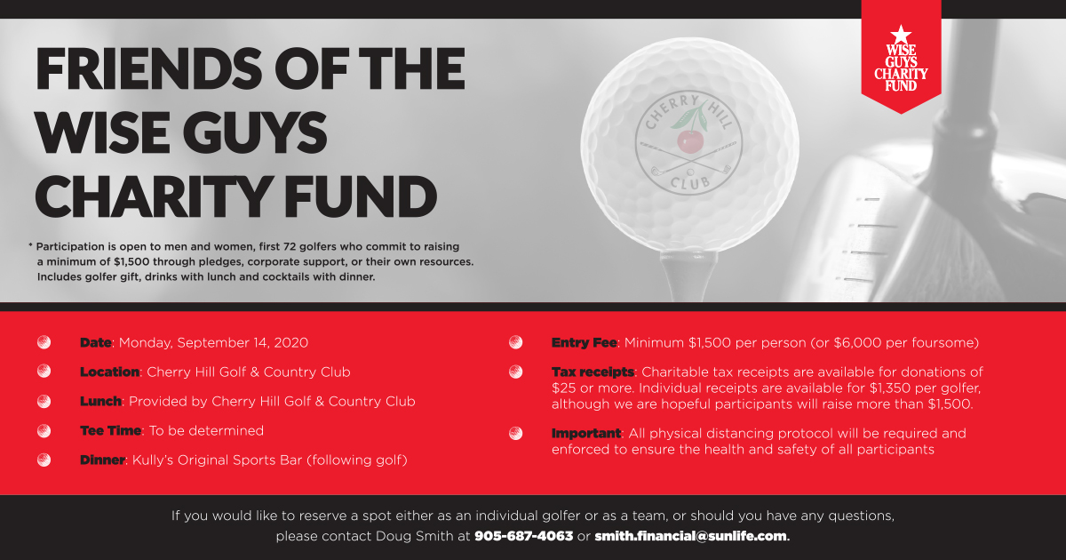 Friends of Wise Guys Charity Fund September 14